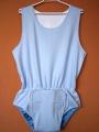 Body pro inkontinenci IN TEX POLY bez rukávů, v pase guma - 4.modrá tričkovina In-Tex