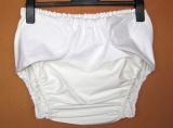 Ochranné inkontinenční kalhotky POLY ZAVINOVACÍ střední