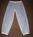Převlečné kalhoty z PVC dlouhé