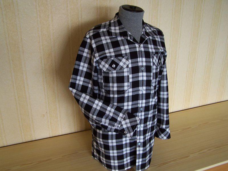 Vycházková košile s dlouhými rukávy, dvě kapsičky s klopami In-Tex