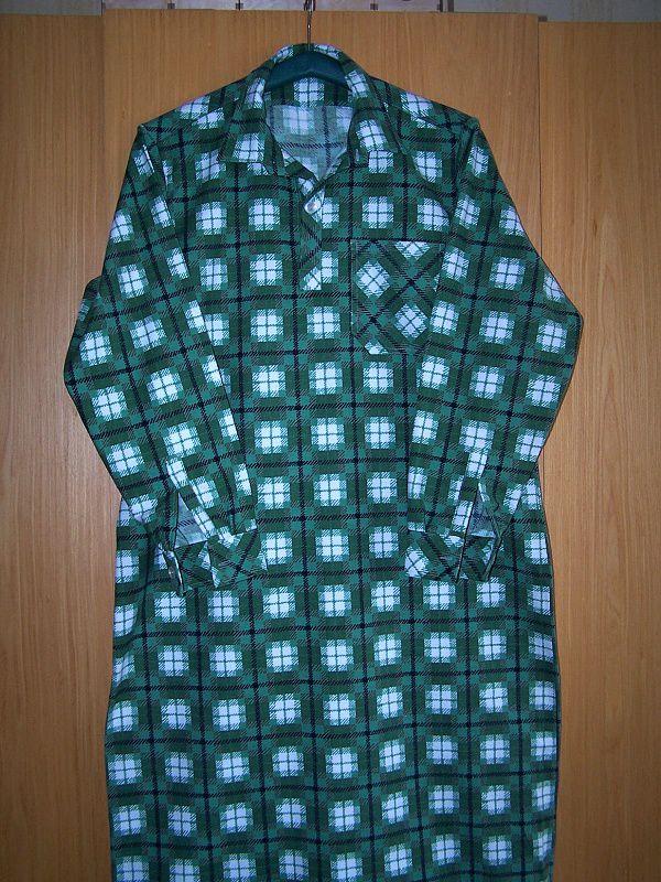 Noční košile flanelová In-Tex