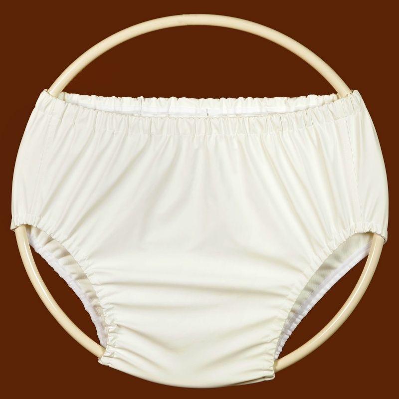 Ochranné inkontinenční kalhotky POLY 2G střední - bílá In-Tex