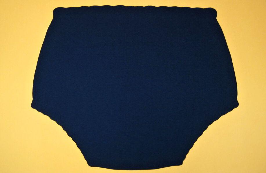 Ochranné inkontinenční kalhotky PVC DUO vysoké - 3.tmavě modrá tričkovina In-Tex