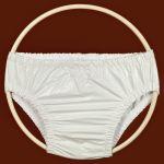 Ochranné inkontinenční kalhotky PVC FIX nízké - bílá In-Tex