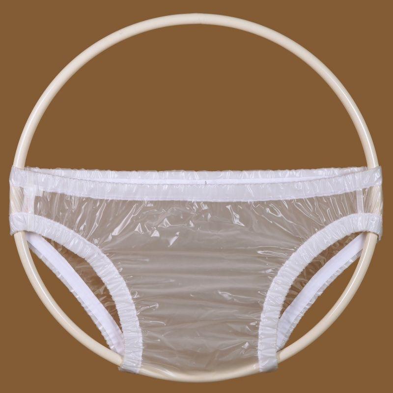 Ochranné inkontinenční kalhotky PVC FIX slip - transparentní In-Tex