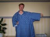 Košile s krátkým zapínáním - dlouhé rukávy