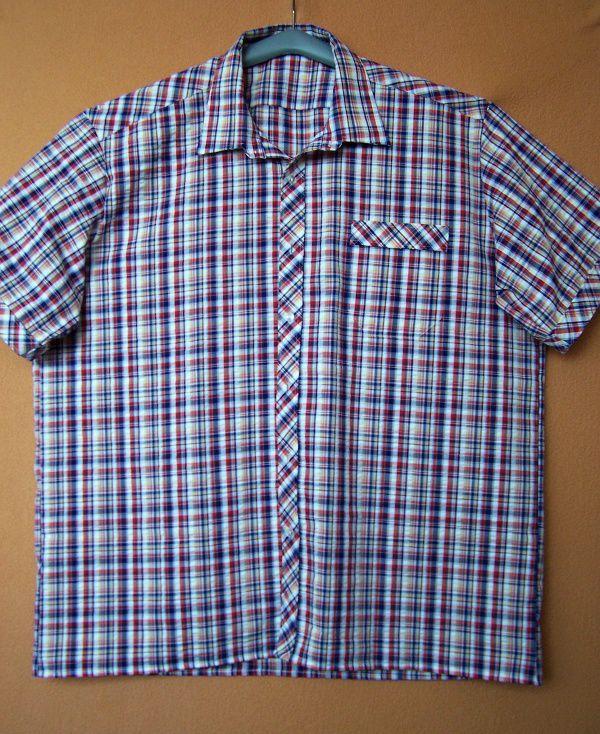 Vycházková košile s krátkými rukávy In-Tex