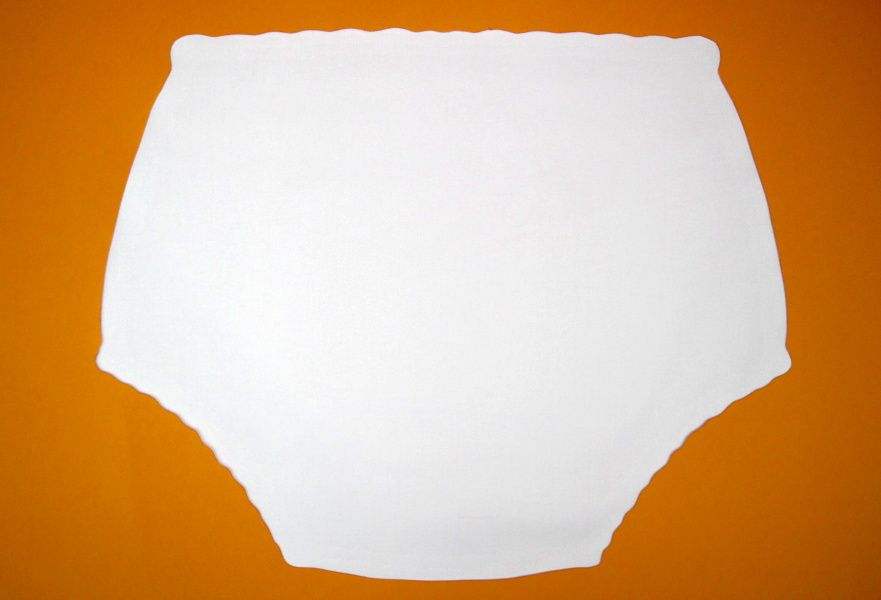 Ochranné inkontinenční kalhotky POLY DUO SAN ZAPÍNACÍ nízké - bílá In-Tex