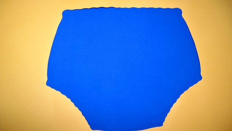 Ochranné inkontinenční kalhotky PVC DUO vysoké - 4.modrá tričkovina In-Tex