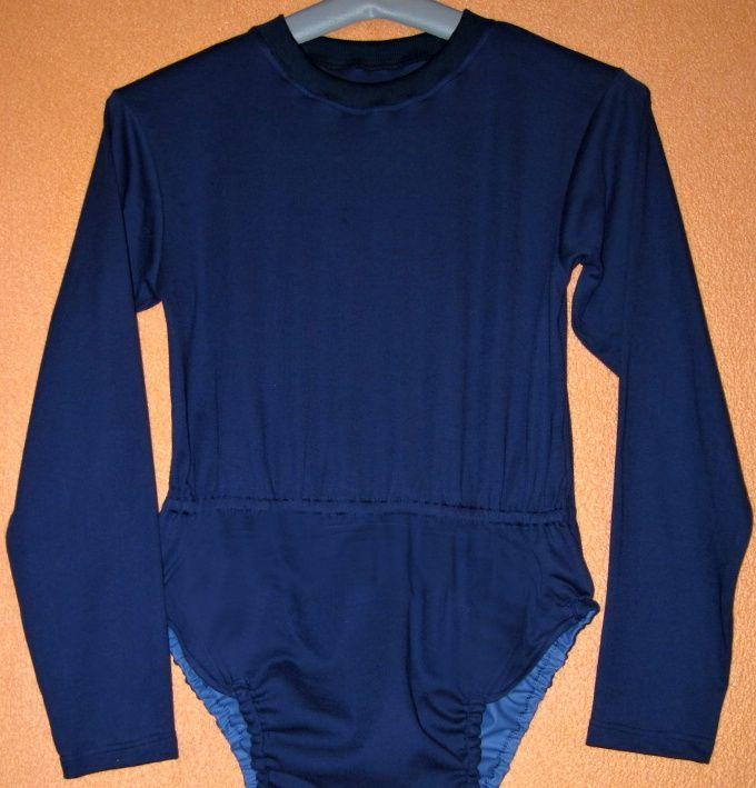 Body pro inkontinenci KLASIK - dlouhé rukávy, v pase guma In-Tex