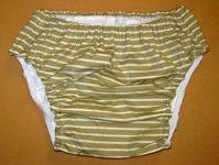 Kalhotky POLY DUO SAN, vel.6 slip, proužek.