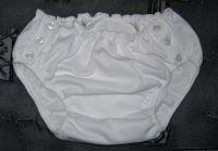 Kalhotky POLY DUO SAN zapínací, vel.0 nízké, bílé