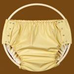 Kalhotky POLY ZAPÍNACÍ, vel.0 vysoká, žluté