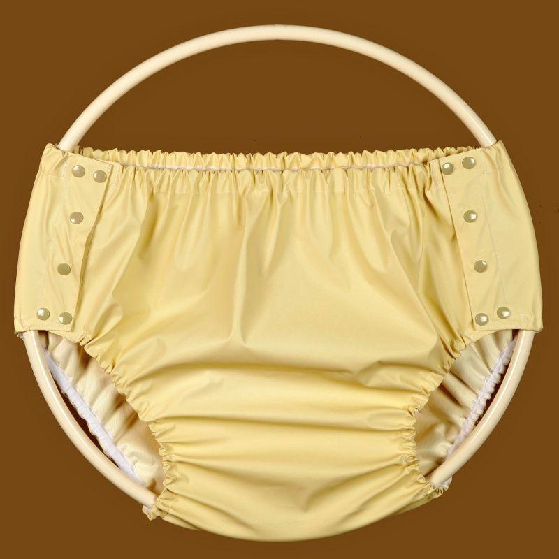 Kalhotky POLY ZAPÍNACÍ, vel.0 vysoká, žluté In-tex