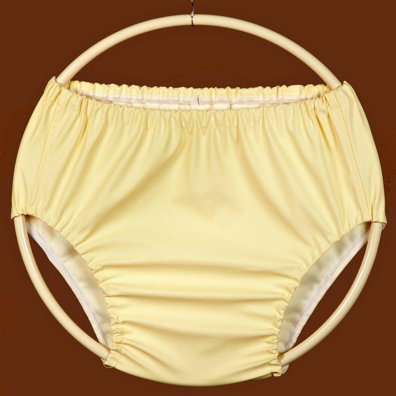 Ochranné inkontinenční kalhotky POLY 2G střední - žlutá ecru In-Tex