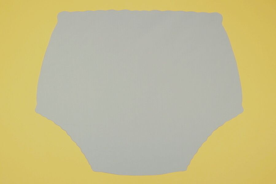 Ochranné inkontinenční kalhotky POLY DUO SAN slip - 2.šedá tričkovina In-Tex