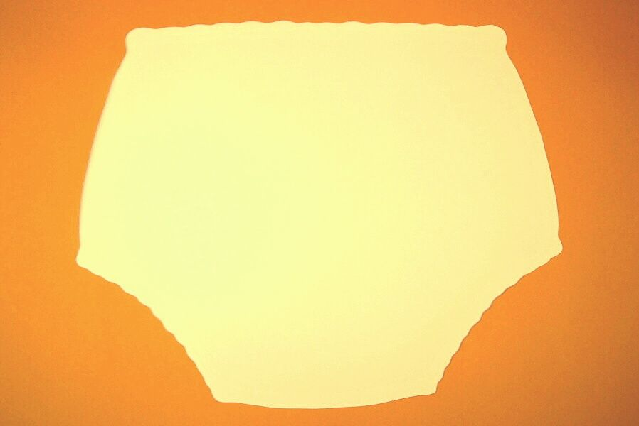 Ochranné inkontinenční kalhotky POLY ZAPÍNACÍ nízké - žlutá ecru In-Tex