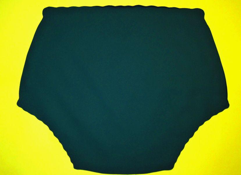 Ochranné inkontinenční kalhotky POLY ZAVINOVACÍ vysoké - petrolejově zelená In-Tex