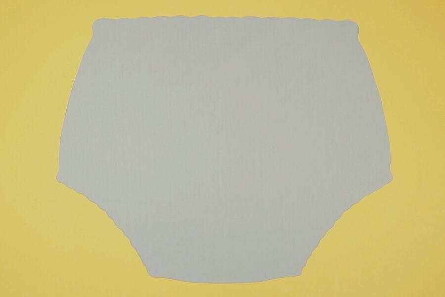 Ochranné inkontinenční kalhotky PVC DUO ZAPÍNACÍ střední - 2.šedá tričkovina In-Tex