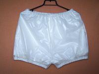 Převlečné kalhoty POLY krátké | bílá, béžová