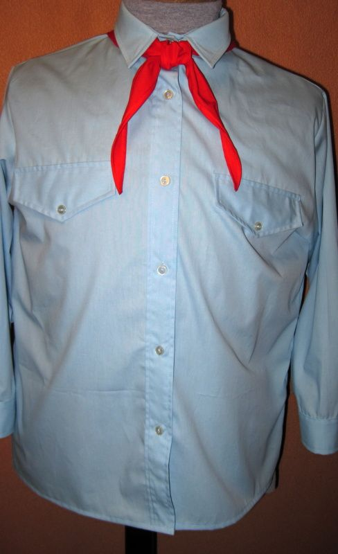 Pionýrská košile - replika In-Tex